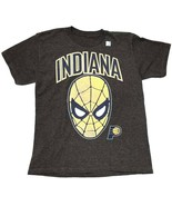 Marvel Spider-Man NBA Indiana Pacers Boys Graphic T-Shirt (Size: Small) - $9.76