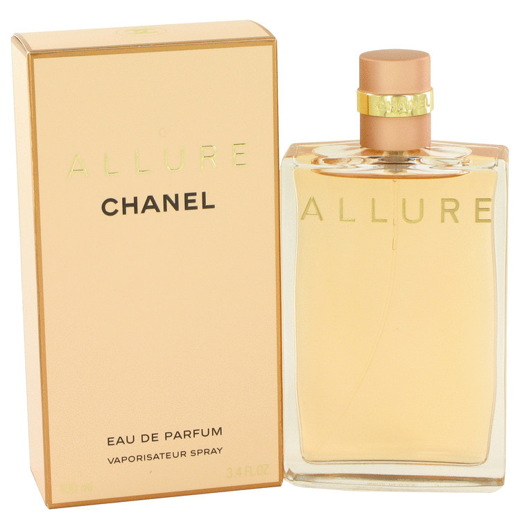 Chanel Allure Perfume 3.4 Oz Eau De Parfum Spray