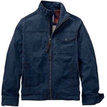 TIMBERLAND MEN JACKETS MOUNT DAVIS TIMELESS WAXED DARK SAPPHIRE. SIZE XL - $78.20