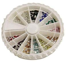 250 PCS 11 Color Attactive Rhinestones For Nail Art Decoration, Multicolor