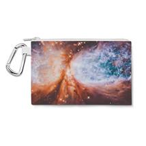 Space Nebula Canvas Zip Pouch - $15.99+
