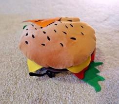 Cheeseburger Burger Hamburger hat dog pet halloween costume size SMALL /... - $7.99