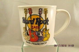 Hard Rock Cafe San Francisco Gibson Les Paul Four Guitars Coffee Cup Mu... - $9.49