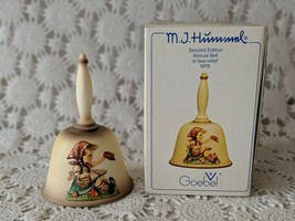 Goebel M.J Hummel Annual Bell 1979 In Bas- Relief Second Edition Vintage  - $12.60