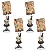 Bethany Lowe Halloween Big Top Place Card Holder with Card Set of 4 - $19.95