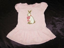 The Children's Childrens Place TCP Pink Easter Bunny Rabbit Sweater Dres... - $12.86
