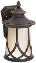 Progress Lighting P5987-122 Resort Collection 1-Light Wall Lantern, Aged... - $145.29
