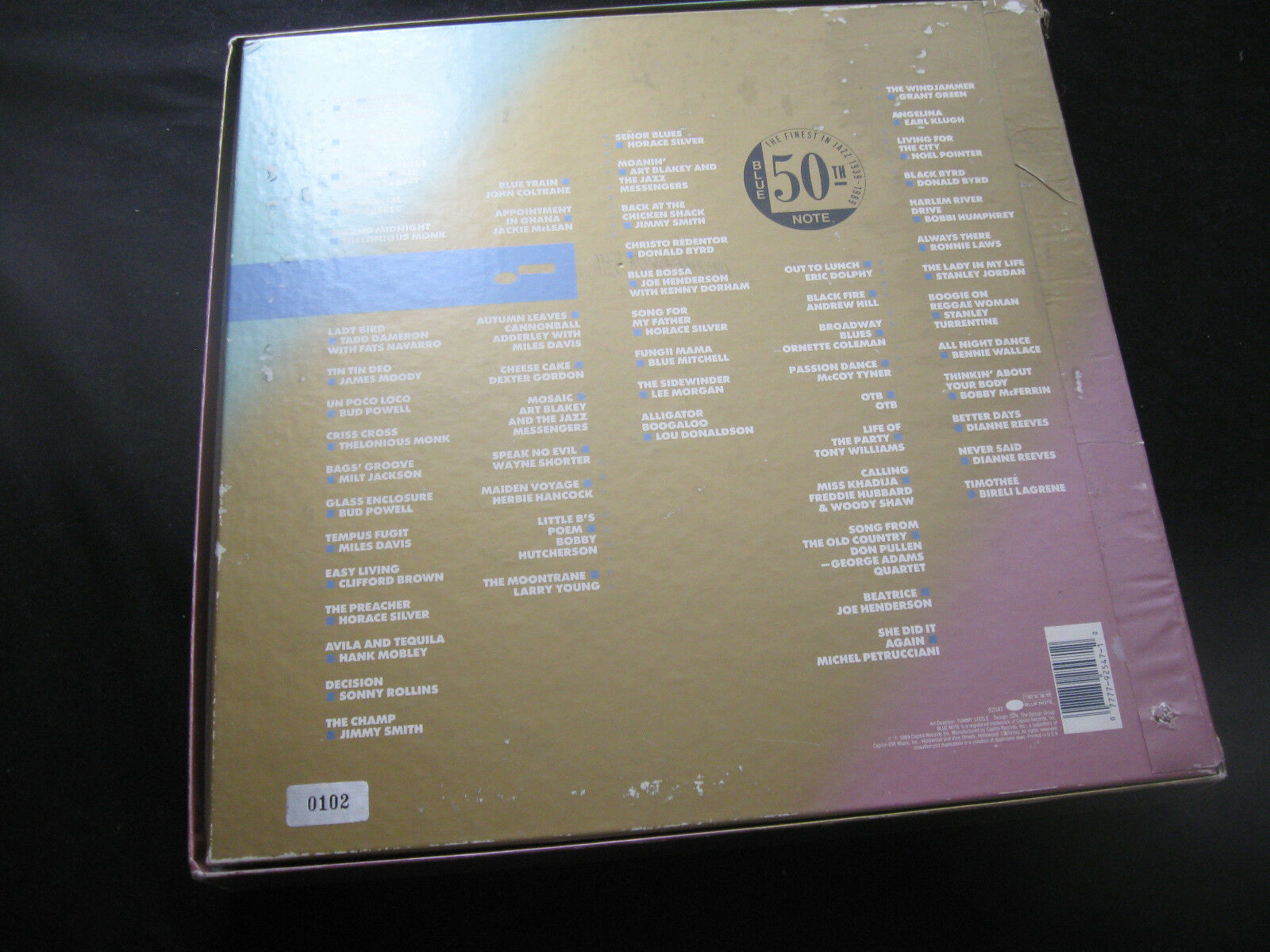 Blue Note 50th Anniversary Jazz 10 Record Box Set 92547 No 0102 Limited Ed RARE image 3