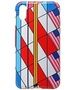 Frank Lloyd Wright Liberty Cover Flags Apple iPhone X Shock Absorbent Case - $18.56