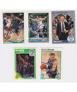 Minnesota Timberwolves Signed Autographes Lot of (5) Trading Cards - Mah... - $14.99
