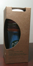 NEW Starbucks 2019 Reusable HOT CUPS Pack of 6 Cups 6 Lids RARE MARBLE S... - $39.60