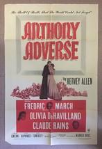 Mervyn' Leroy's ANTHONY ADVERSE (1936) Fredric March & Olivia de Havilla... - $50.00