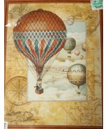 RIOLIS Around the World Hot Air Balloon Counted Cross Stitch Kit 0033 PT... - $19.99