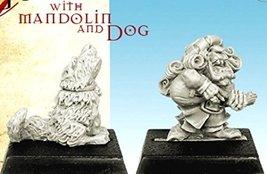 Spellcrow Goblin with Mandolin and Dog