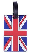Set Of 2 Fashional Luggage Tag Bag Tags Silicone Name Tag Travel Tag [UK]