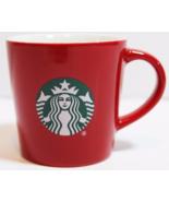 Starbucks 2015 Red 3-Ounce Demi Espresso Cup with Siren Logo NEW IN BOX - $16.49