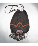 Antique Philtan Hand Made in Belgium Beaded Purse Hand Bag C2820 - $43.39