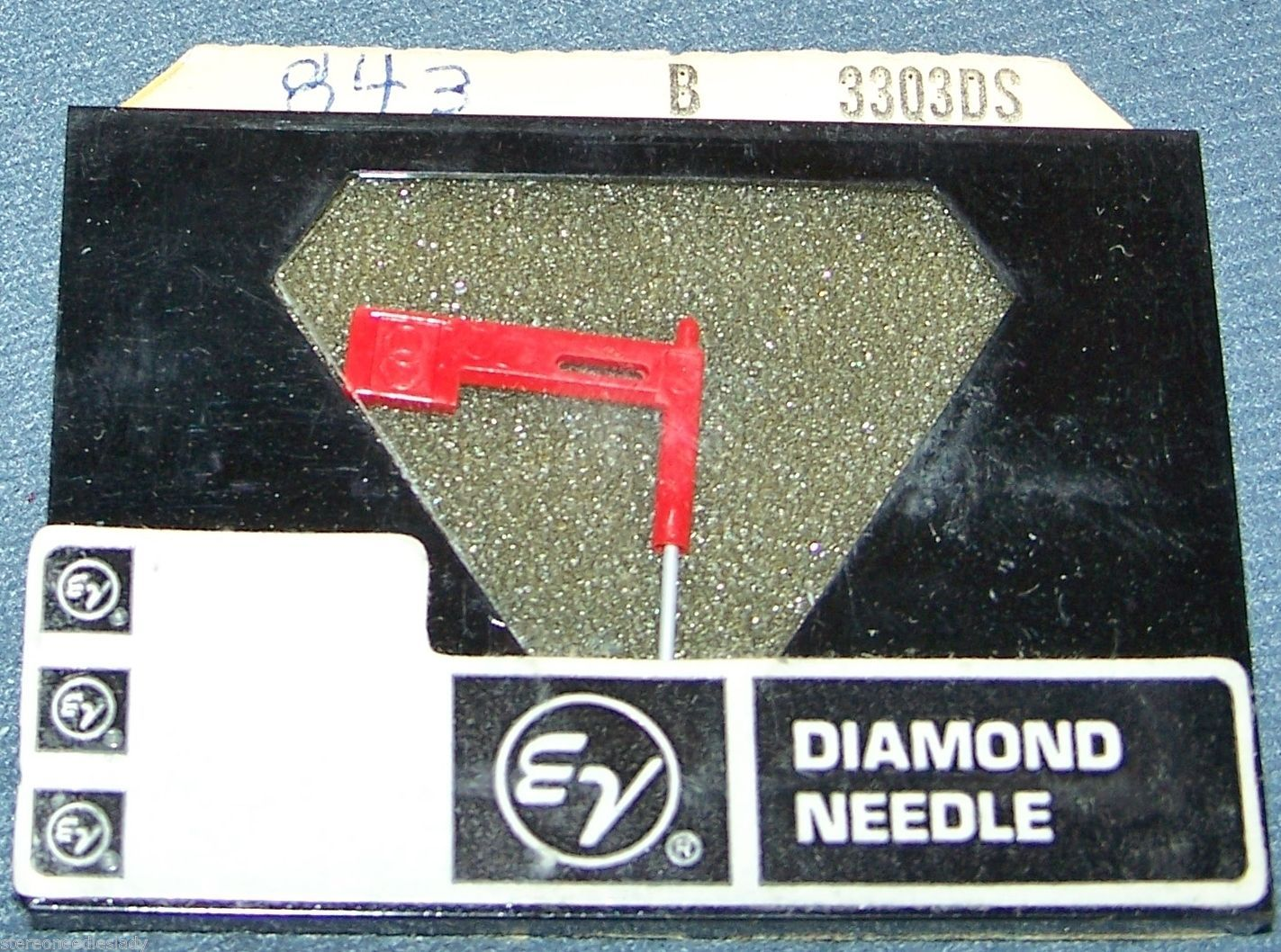 843-DS73 PHONOGRAPH RECORD PLAYER NEEDLE Stylus for A25/2 A23/2 T-23 Telefunken