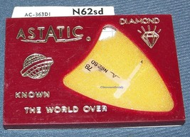 Astatic N62sd RECORD PLAYER NEEDLE for Zenith X-512C Zenith X-510F Zenith X-510J image 1