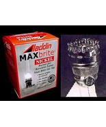 Aladdin Lamp Polished Nickel MaxBrite Burner A B C  21 21C 23 23A 500 He... - $108.95