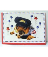 CHIHUAHUA Dog Police Outfit Greeting Cards Blank Inside with Envelope Pa... - $5.00