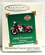 2003 Hallmark Keepsake Harley-Davidson 1948 Panhead Miniature Ornament Q... - $12.00