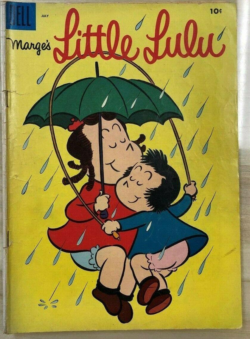 Marge's LITTLE LULU #85 (1955) Dell Comics VG+