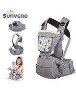 SUNVENO Baby Hipseat Carrier 3 in1 Comfort Ergonomic Waist Stool Baby Ca... - $58.50