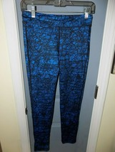 Old Navy Active Blue And Black Compression Leggings Size XL (14) Girl's EUC - $20.00
