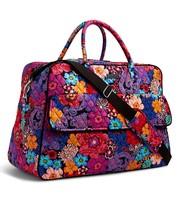 Vera Bradley Signature Cotton Grand Weekender Bag, Floral Fiesta