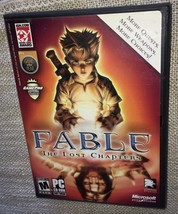 Fable: The Lost Chapters (PC, 2005)Fast Free Shipping - $9.40