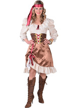 Pirate Lady - Bodice style , XS - XXL includes Hat - $51.76+