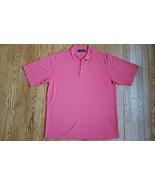 BUGATCHI UOMO Men's Golf Rugby Polo Shirt Short Sleeve Size Large - $13.48