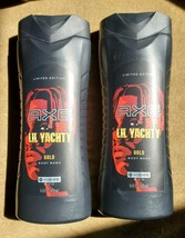 Lot Of 2 Axe Limited Edition Lil Yachty Gold Body Wash - $32.68