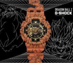 DRAGON BALL Z & G-SHOCK GA-110JDB-1A4JR Casio New Shipping by FedEx - $394.95