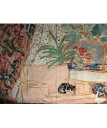 Shower Curtains Kitty Sitting On Couch 70 X 73, 100%. Polyester - $19.75