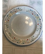 """Brick Oven Stoneware Heritage Replacement Dinner Plate 10 1/2"""" Birds & F... - $11.30"""