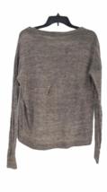 Vince Women Gray Crop Sweater Sz XS image 4