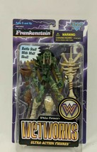 Wetworks Green Frankenstein (McFarlane, 1996) Ultra Action Figure Battle... - $19.79