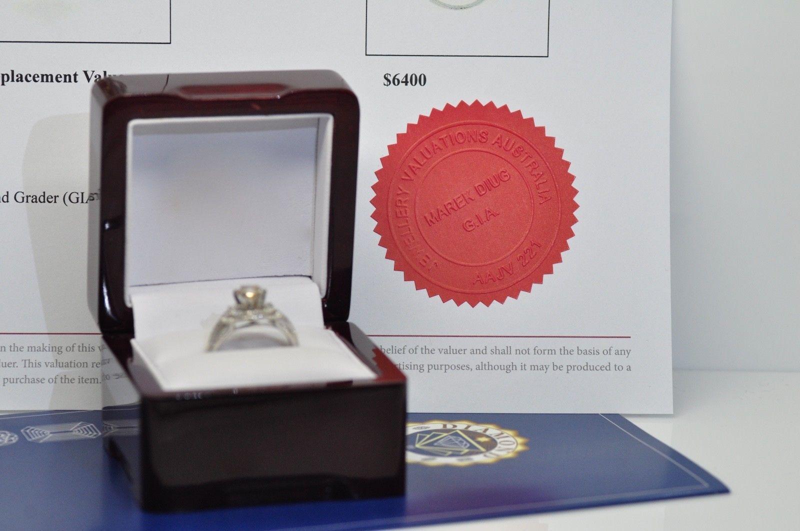 1.55Ct Brilliant Cut Diamond Engagement Bridal Wedding Rings