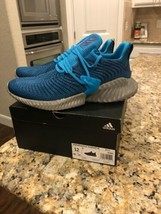 Adidas Men's Alpha Bounce Instinct Running Shoes Size 12 #BD7112 Sneakers - $99.00