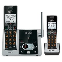 AT&T CL82213 DECT 6.0 2 Cordless Phones Set w/ Answering Machine & Calle... - $59.95