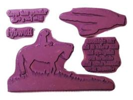 Our Daily Bread Howdy! Rubber Cling Stamp Set image 2