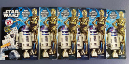 Lot of 6 Party Mini Star Wars Sticker Activity Book 12 Pages Color Scene... - $8.59