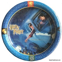 Harry Potter Party PLATES LUNCH 8 PC Birthday Decoration Car Chamber of ... - $15.79
