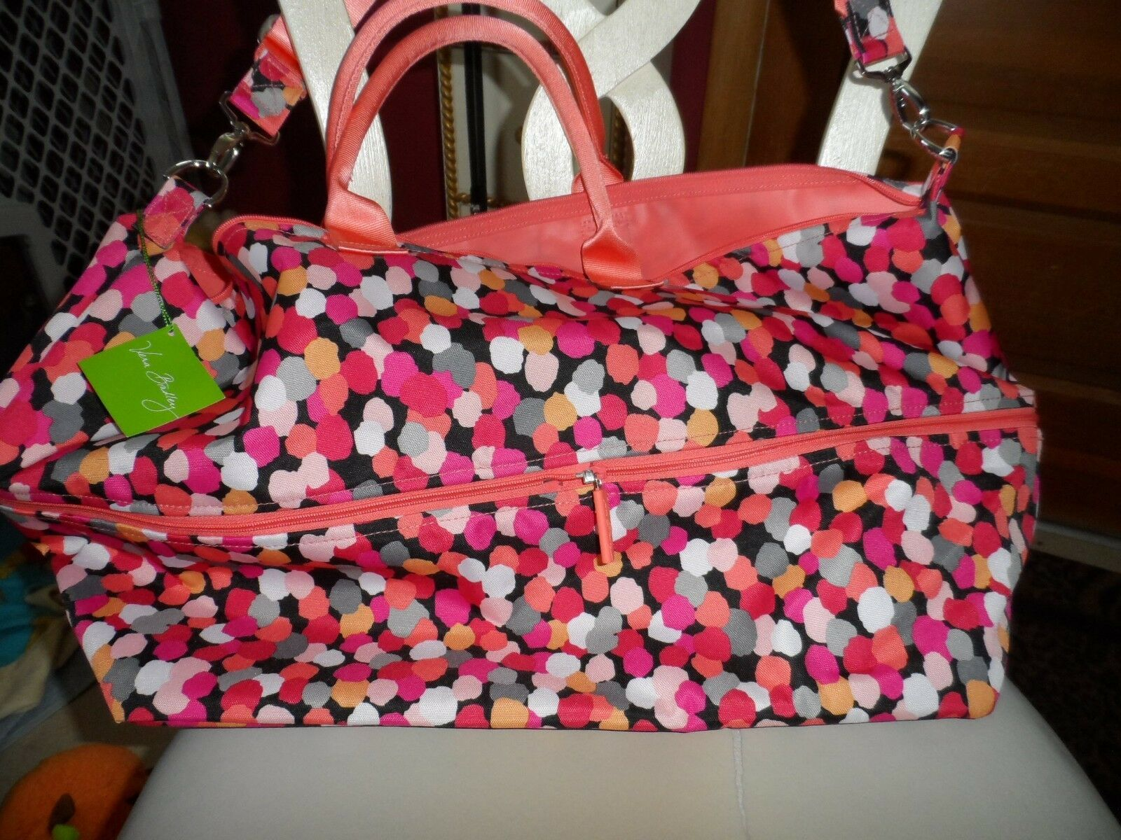 Vera Bradley Lighten up Expandable travel Bag in Pixie Confetti