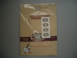 Rare Disney Mickey and Minnie 70th Year Letter Set - $10.88