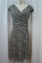 Ralph Lauren Petite Dress 14P White Black Sleeveless Business Cocktail D... - $69.26