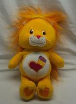 "Care Bear Cousins ORANGE BRAVE HEART LION 11"" Plush STUFFED ANIMAL Toy 2003 - $18.32"