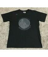 Adidas Golden State Warriors Steph Curry Men's T-Shirt Size Medium Black - $14.85